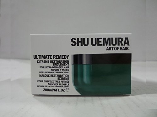 Extreme Masque (Shu Uemura Ultimate Remedy Extreme Restoration Treatment for Ultra-Damaged Hair, 6 Ounce)