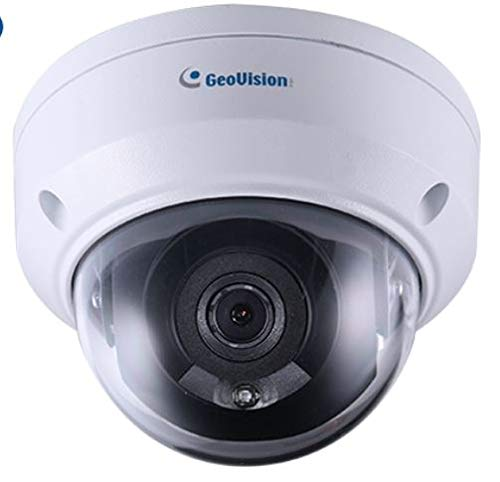 (GeoVision GV-ADR2701 IR Mini Fixed Rugged IP Dome, White)