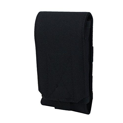 Sourcingmap® en nylon extérieur Course à Pied Unisexe tactique Molle Pouch Holster téléphone pochette de ceinture