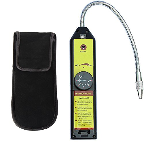 LotFancy Refrigerant Freon Leak Detector for HFC CFC Halogen R134a R410a R22a R600a R290 Air Condition HVAC