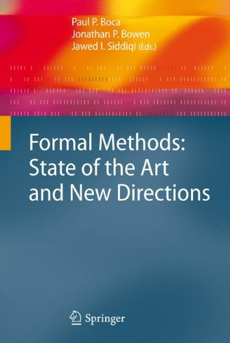 Formal Methods: State of the Art and New Directions by Brand: Springer