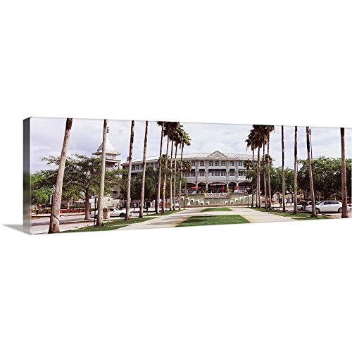 GREATBIGCANVAS Gallery-Wrapped Canvas Entitled Spring Training Home of Minnesota Twins, Hammond Stadium, Fort Myers, Florida by 60