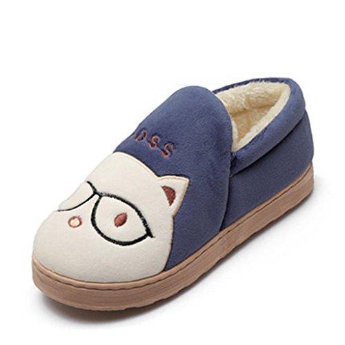 3 43 Chaussons Pantoufles D'extérieur Coton D'intérieur Antidérapante 44 En Pattern Dww Taille couleur Chaussure Et Eur 66wFrPqx
