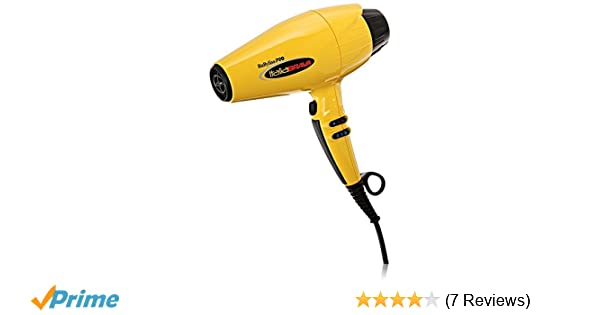 Amazon.com: BaBylissPRO ItaliaBrava Dryer with Ferrari-designed Engine: Luxury Beauty