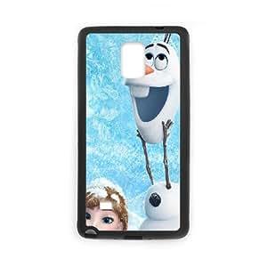 Olaf Samsung Galaxy Note 4 Cell Phone Case Black I3625897