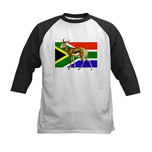 CafePress - South Africa Springbok Flag Kids Baseball Jersey