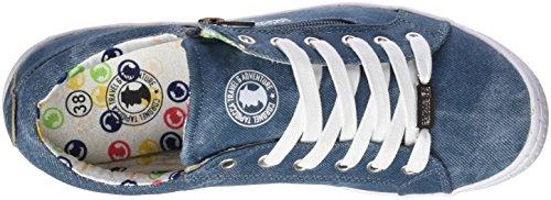 Coronel Tapioca Lona Chica Jeans, Zapatillas de Senderismo Para Mujer Azul (Jeans 0)