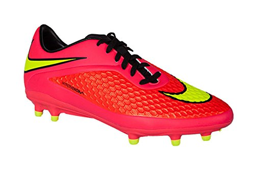 Nike Men's Hypervenom Phelon FG Soccer Shoe (10.5 D (M) US, Color: Brght Crmsn/VLT/Hypr Pnch/Blck) (Nike Soccer Men Shoes 2015)