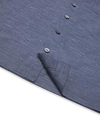 Van Heusen Men's Air Texture Short Sleeve Button Down Shirt