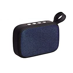 YJYdada Portable Wireless Bluetooth Stereo SD FM Speaker for Smartphone Tablet Laptop (Blue)