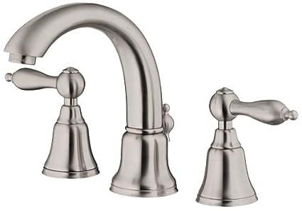 Danze D304040BN Fairmont Two Handle Widespread Lavatory Faucet ...