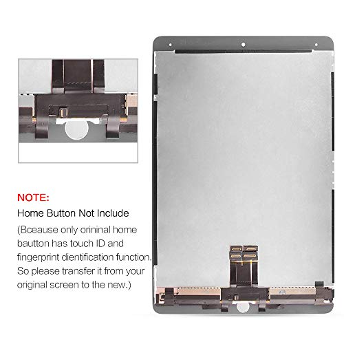 for iPad Pro 10.5 A1701 A1709 Screen Replacement LCD Display LCD Display Matrix Touch Screen Digitizer Tablet Assembly no Home Button EMC 3140 3141 by SRJTEK (Image #5)