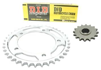 D.I.D Standard - Kit de cadena (HD) para Yamaha DT 125 R/RE (modelos 1991-2006): Amazon.es: Coche y moto