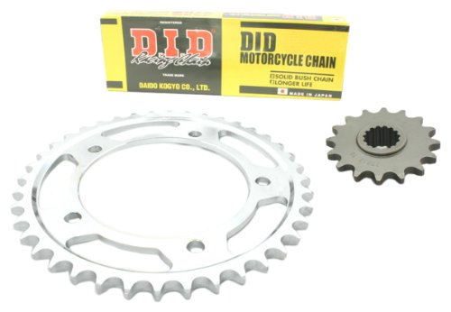 D.I.D HO.001.01-915.01.8 - Kit de cadena está ndar (HD) para Honda CBR 125 R (modelos 2004-2010, JC34/JC39)