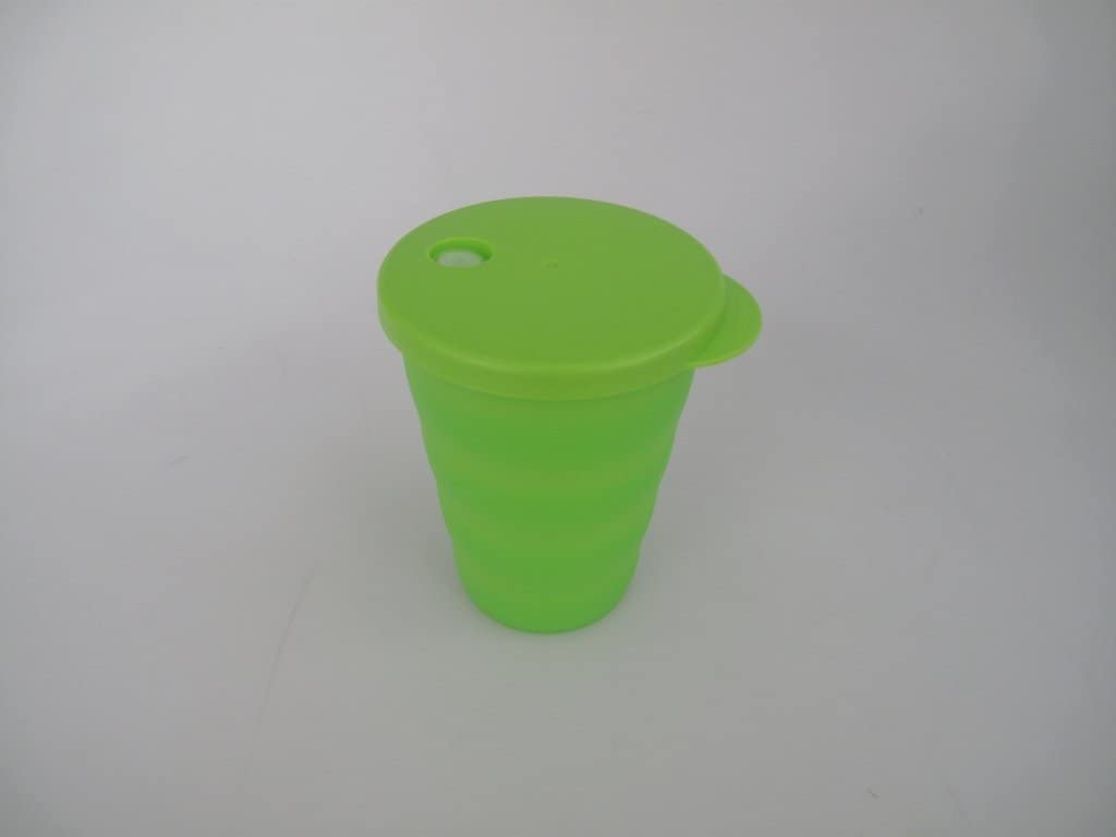 TUPPERWARE  gobelets /à paille 330 ml tasse paille vert