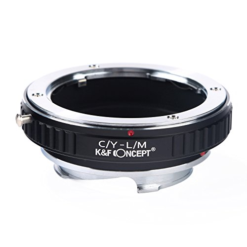 K&F Concept Adapter for Contax Yashica Mount Lens to Leica M Camera M-P M240 M10