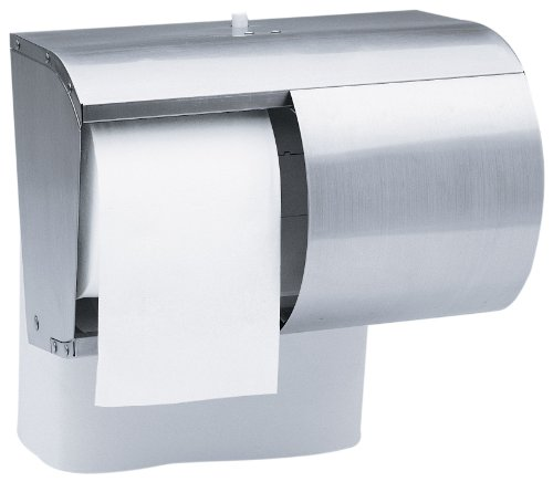 how to open kimberly clark toilet paper dispenser