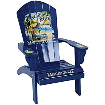 amazon com margaritaville outdoor adirondack chair castaway bay