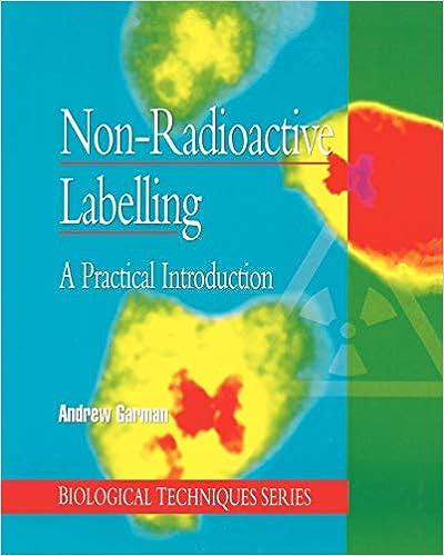 non radioactive labelling garman a j
