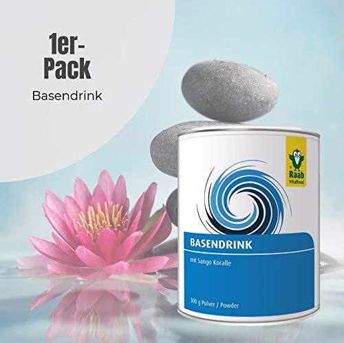 Raab Base Drink polvo, 1er Pack (1 x 300 g)): Amazon.es: Salud y cuidado personal