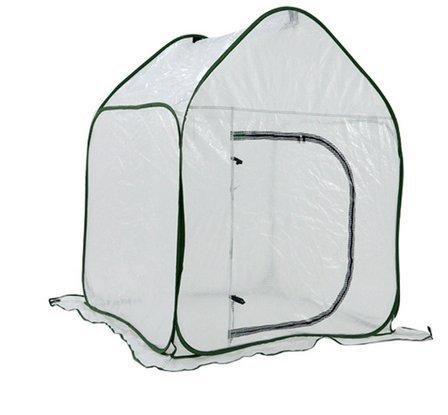 Ez4garden Heavy-duty Folded Garden Cover Mini Greenhouse Bird Prevent Cover Plant Protector,3.6'x3.6'x4.7' by Ez4garden