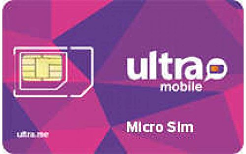 Ultra Mobile Micro Sim Card Starter Kit- Brand New