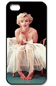Marilyn Monroe Barefoot iPhone 5/5s Case, DIY Hard Shell Skin Cover of Icustomcase