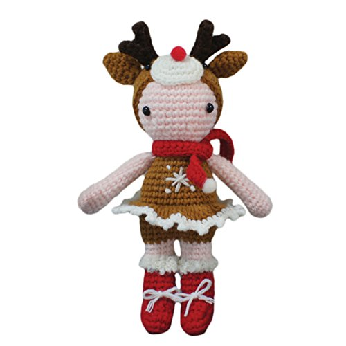 iHanco Merry Christmas Knitting Doll Rudolph by iHanco