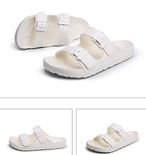 Garons Air Femmes Respirant Voyager Surf Blanc En Flip Plage Casual Toe Huaishu Slipper Chaussures Sandale Plein De Sandales Flops Pantoufles OSx1nn
