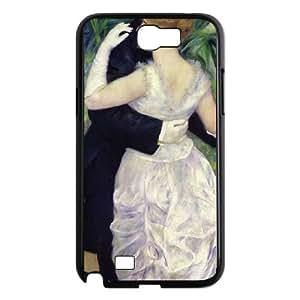 Samsung Galaxy N2 7100 Cell Phone Case Black_Dance in the City Aczcv