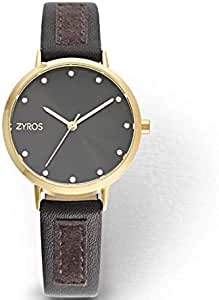 Zyros Casual Watch For Women Analog Metal - ZY1119L010202