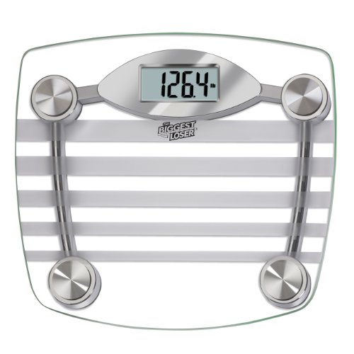 Taylor Precision Products The Biggest Loser Glass Digital (Glass Lithium Digital Scale)