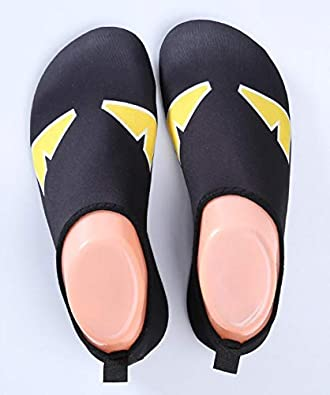 ZHOUXUELI Men and Women Leisure Snorkeling Swimming Diving Ultra Light Dry Beach Shoes