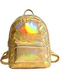 Women Backpack Girls Holographic Backpack Laser Daypack Bag For Teenage Girls Students School Bag Hologram Mochila