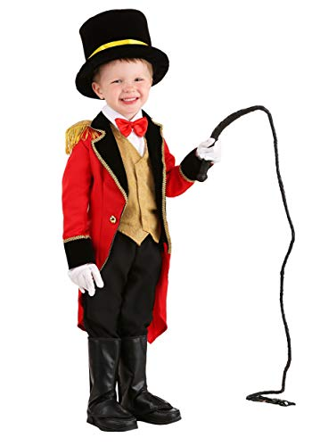 Ringmaster Costume for Toddlers 18 Months Red -