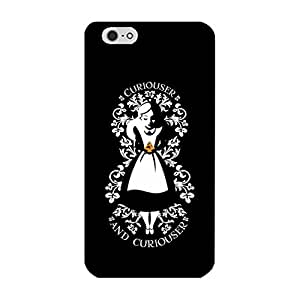 Cute Style Alice In Wonderland Phone Case for Iphone 6 Plus/6s Plus 5.5 Inch Plus Newest Popular Anime Back Hard Cover Case