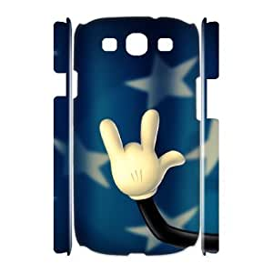 LZHCASE Cover Case Rock & Roll 3D Diy For Samsung Galaxy S3 I9300 [Pattern-1] hjbrhga1544