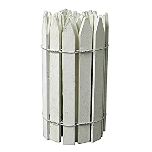 Greenes Fence RC 24W 16 in x 12 ft. White Gothic Top Trim Fence