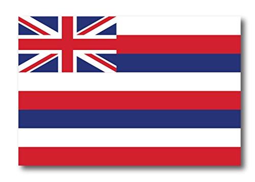 Hawaii Car Magnet US State Flag Refrigerator Locker SUV Heavy Duty Waterproof