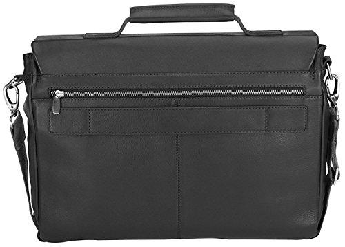 - Bugatti Manhattan Leather Laptop Brief