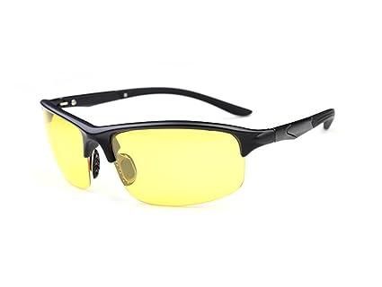 86a471fecb Wonzone Polarized Wrap Sunglasses TR90 Light Frame Anti-Glare UV400  Protection Sports Driving Outdoor Golf