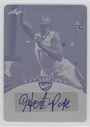 Leaf Single Herb (Herb Pope #1/1 (Basketball Card) 2012 Leaf Young Stars Draft - [Base] - Printing Plate Magenta #BA-HP1)