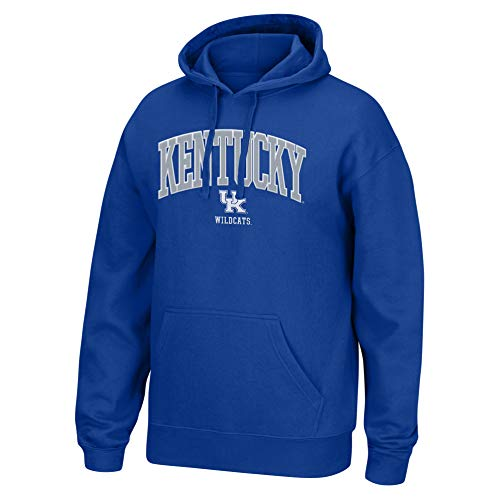 Top of the World NCAA Men's Kentucky Wildcats Applique Arch Over Hoodie Royal XX Large