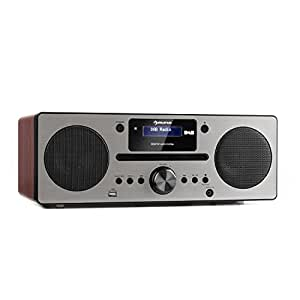 AUNA Harvard Equipo de música - Reproductor de CD: Amazon.es ...