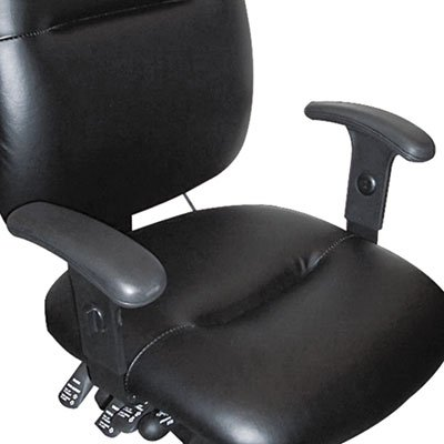Height-Adjustable T-Bar Arms for 24-Hour Task Chairs, Black, Sold as 1 (Height Adjustable T-bar Arms)