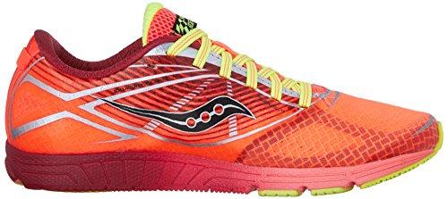 Saucony - Zapatillas de running para mujer - 1 ViziPRO Coral/Citron