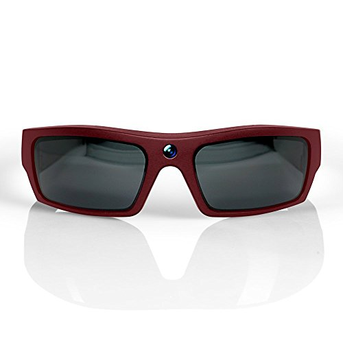 GoVision SOL 1080p HD Camera Glasses Video Recording Sport Sunglasses with Bluetooth Speakers and 15mp Camera - - Google Sunglasses Video