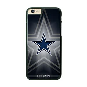 NFL Case Cover For Apple Iphone 6 Plus 5.5 Inch Black Cell Phone Case Dallas Cowboys QNXTWKHE1670 NFL Durable Hard Phone