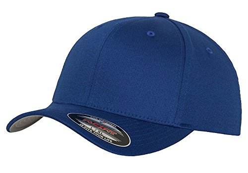 (1961-66 Ford F100 Pickup Truck Classic Outline Design Flexfit hat cap small/medium royal)
