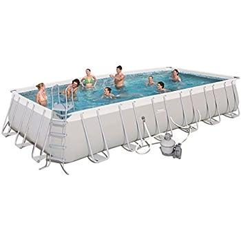 Bestway 56477e power steel rectangular frame - Bestway power steel frame pool ...